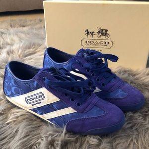 Women's Coach Sneakers Size 7.5